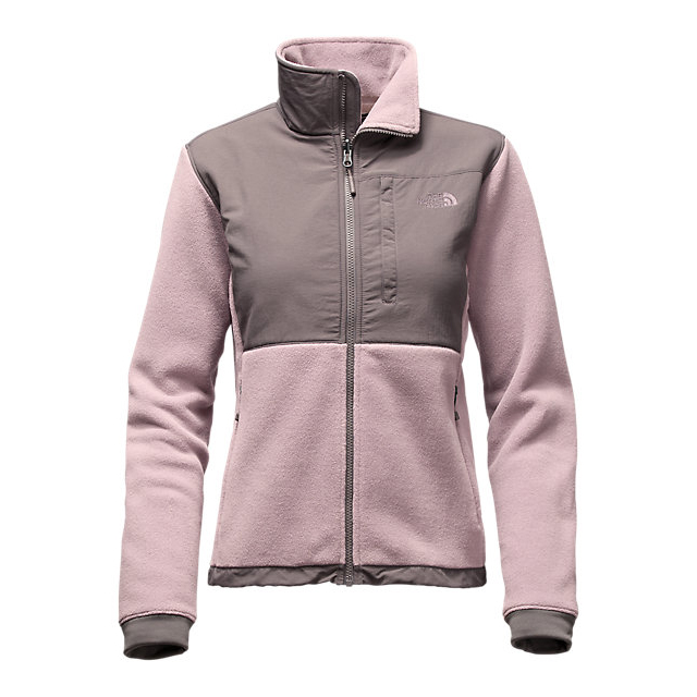 CHEAP NORTH FACE WOMEN'S DENALI 2 JACKET QUAIL GREY/RABBT GREY ONLINE