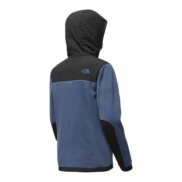CHEAP NORTH FACE WOMEN\'S DENALI 2 HOODIE SHADY BLUE/BLACK ONLINE