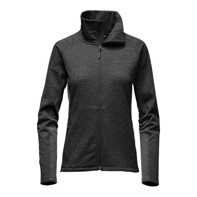 CHEAP NORTH FACE WOMEN'S ARCATA FULL ZIP ASPHALT GREY HEATHER / ASPHALT GREY ONLINE