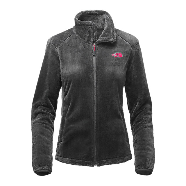 CHEAP NORTH FACE WOMEN'S OSITO 2 JACKET ASPHALT GREY/CERISE PINK ONLINE