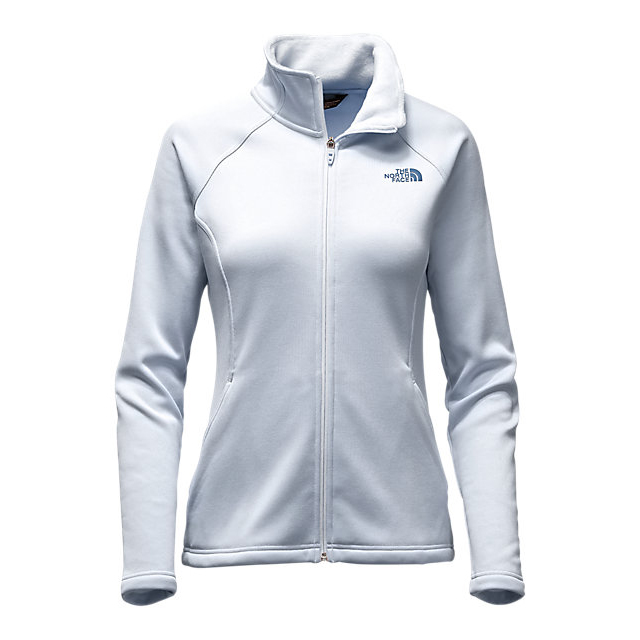 CHEAP NORTH FACE WOMEN'S AGAVE FULL ZIP ARCTIC ICE BLUE HEATHER ONLINE