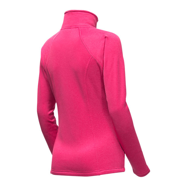 CHEAP NORTH FACE WOMEN\'S AGAVE FULL ZIP CERISE PINK HEATHER ONLINE
