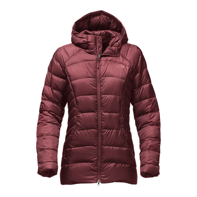 CHEAP NORTH FACE WOMEN'S TONNERRO PARKA DEEP GARNET RED ONLINE