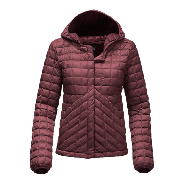 CHEAP NORTH FACE WOMEN'S THERMOBALL CARDIGAN DEEP GARNET RED ONLINE