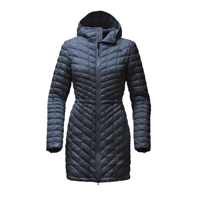 CHEAP NORTH FACE WOMEN'S THERMOBALL  HOODED PARKA URBAN NAVY ONLINE