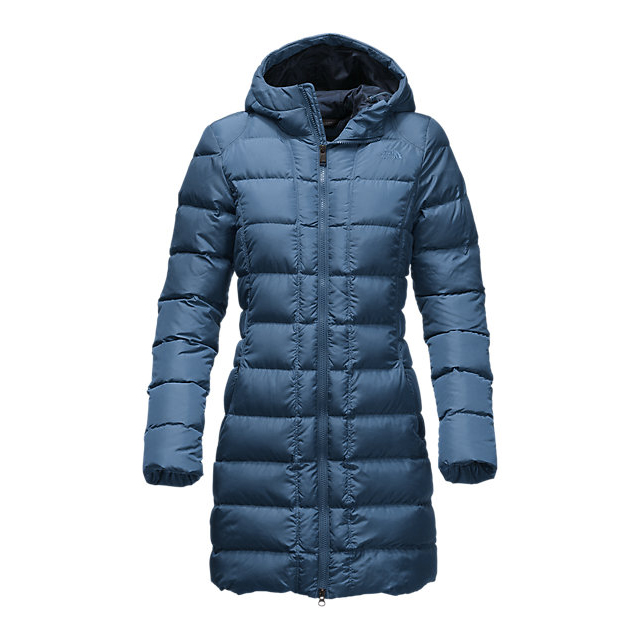 CHEAP NORTH FACE WOMEN'S GOTHAM PARKA SHADY BLUE ONLINE