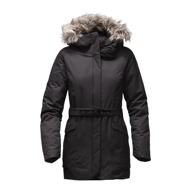 CHEAP NORTH FACE WOMEN'S CAYSEN PARKA BLACK ONLINE