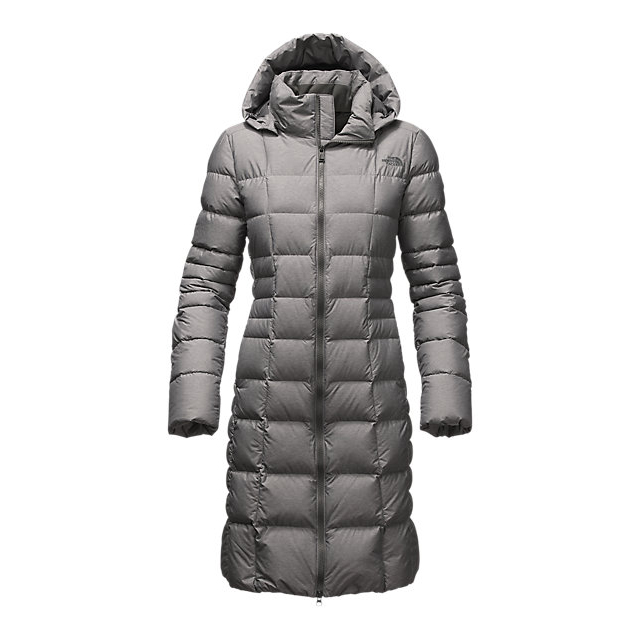 CHEAP NORTH FACE WOMEN'S METROPOLIS PARKA II (NEW) MEDIUM GREY HEATHER ONLINE