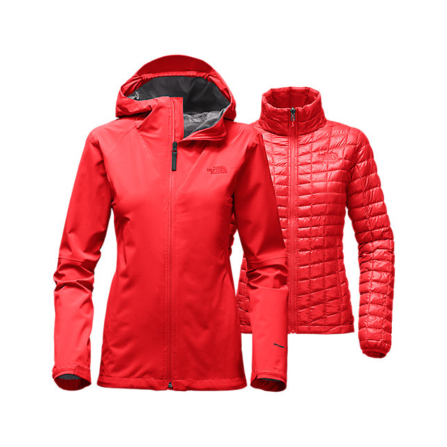 CHEAP NORTH FACE WOMEN'S THERMOBALL TRICLIMATE JACKET HIGH RISK RED HEATHER ONLINE