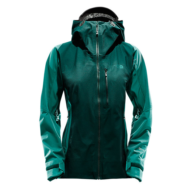 CHEAP NORTH FACE WOMEN'S L5 GORE-TEX SHELL BLACK/CONIFER TEAL JACQUARD ONLINE