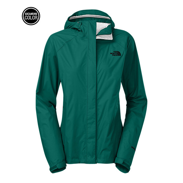 CHEAP NORTH FACE WOMEN'S VENTURE JACKET CONIFER TEAL ONLINE