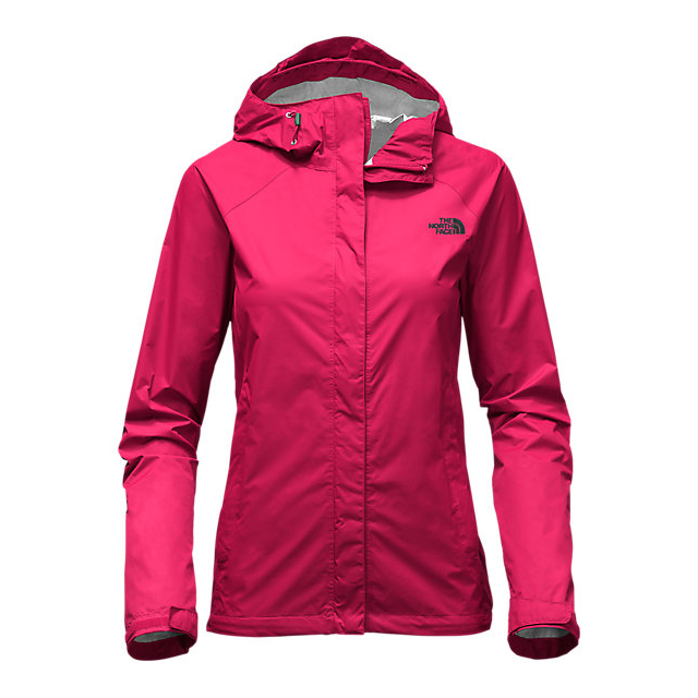 CHEAP NORTH FACE WOMEN'S VENTURE JACKET CERISE PINK/DARKEST SPRUCE ONLINE