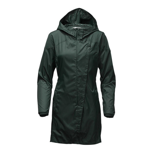 CHEAP NORTH FACE WOMEN'S GYMSET TRENCH JACKET DARKEST SPRUCE ONLINE