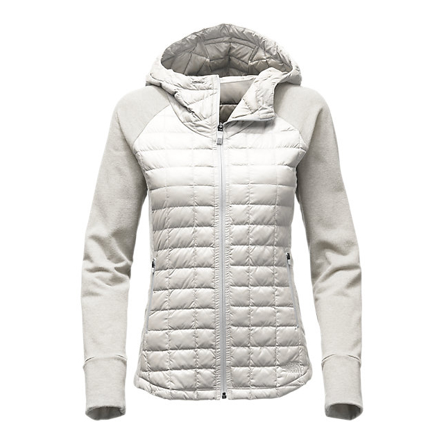 CHEAP NORTH FACE WOMEN'S ENDEAVOR THERMOBALL  JACKET MOONLIGHT IVORY/MOONLIGHT IVORY WHITE HEATHER ONLINE