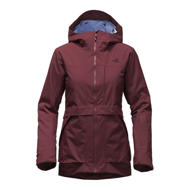 CHEAP NORTH FACE WOMEN\'S NEVERMIND JACKET DEEP GARNET RED ONLINE