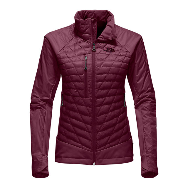 CHEAP NORTH FACE WOMEN'S DESOLATION THERMOBALL  JACKET DEEP GARNET RED ONLINE