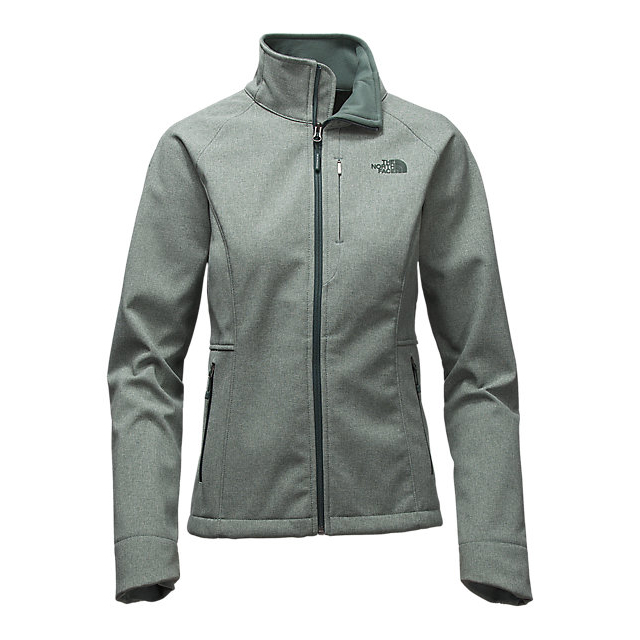 CHEAP NORTH FACE WOMEN'S APEX BIONIC 2 JACKET - UPDATED DESIGN BALSAM GREEN HEATHER ONLINE