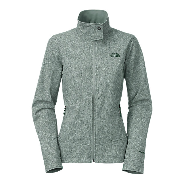CHEAP NORTH FACE WOMEN'S CALENTITO 2 JACKET BALSAM GREEN HEATHER ONLINE