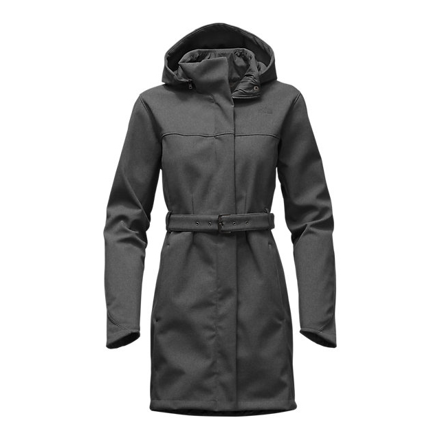 CHEAP NORTH FACE WOMEN'S APEX BIONIC TRENCH DARK GREY HEATHER ONLINE