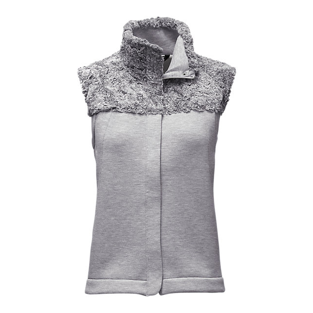 CHEAP NORTH FACE WOMEN'S HYBRINATION THERMAL 3D VEST LIGHT GREY HEATHER ONLINE