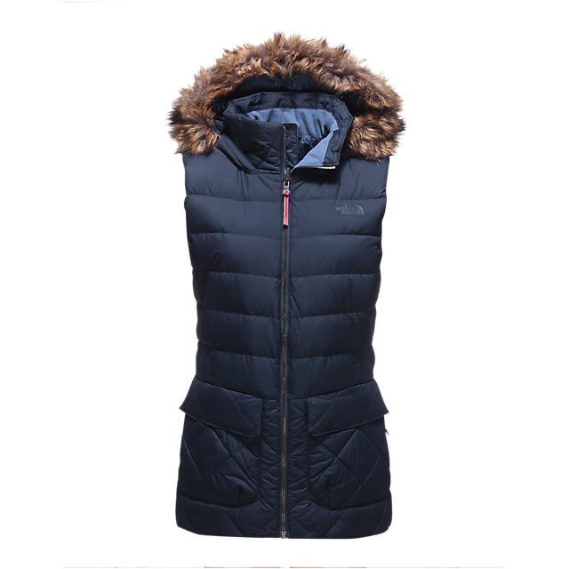 CHEAP NORTH FACE WOMEN'S NITCHIE INSULATED VEST URBAN NAVY ONLINE