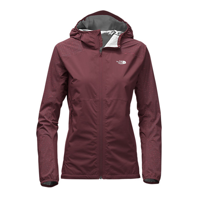 CHEAP NORTH FACE WOMEN'S STORMY TRAIL JACKET DEEP GARNET RED ONLINE